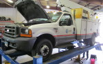 Some of the Trucks in the Shop Today!